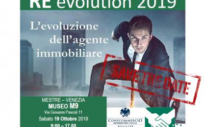 RE EVOLUTION – BE FIMAA 2019 – SABATO 19 OTTOBRE 2019